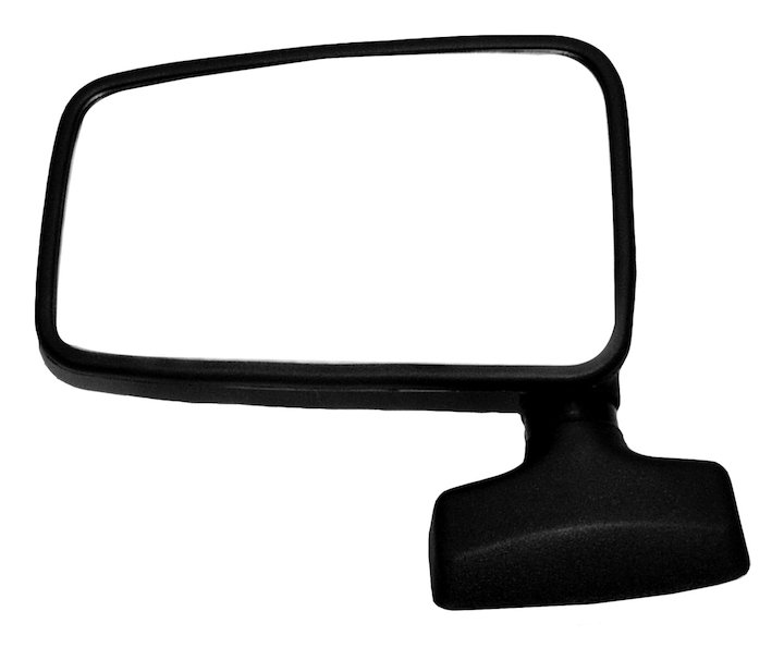 Left Side Mirror 87-90 Cherokee and Commanche