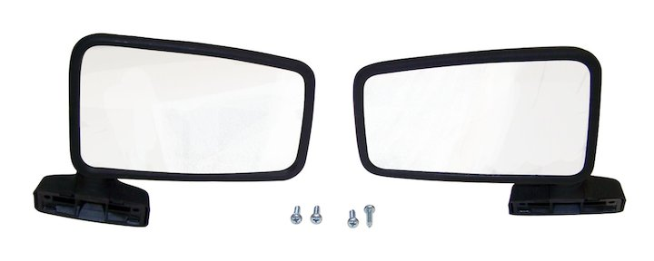 Mirror Set 87-93 Wranglers with Full Hard Doors