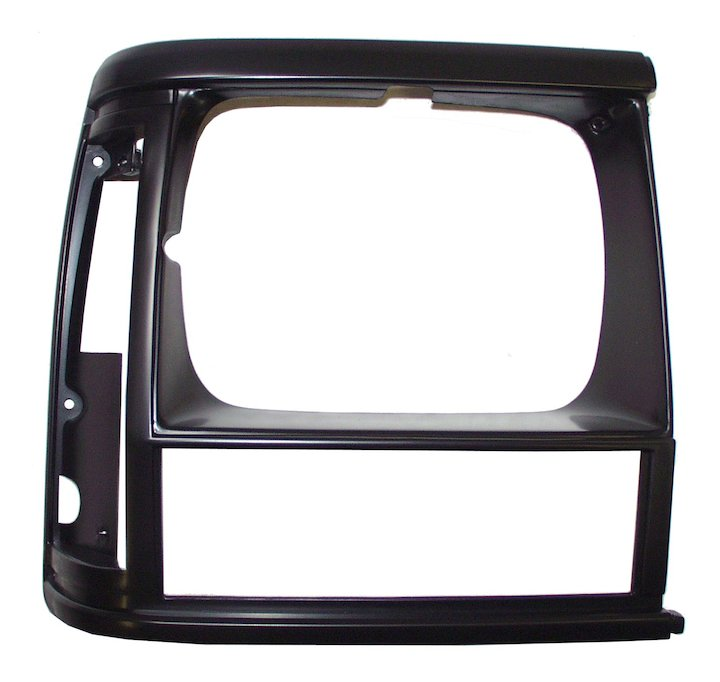 Headlamp Bezel, Right, Black, 91-92 Cherokee XJ