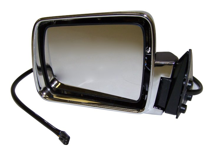 Electric Remote Mirror, Left (Chrome)