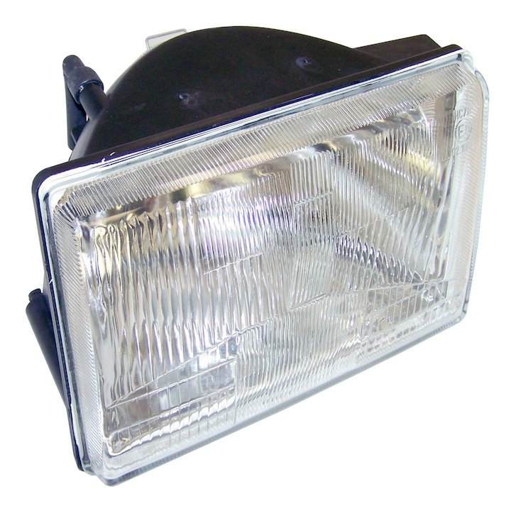 Headlamp, Left, 93-98 Grand Cherokee ZJ, German