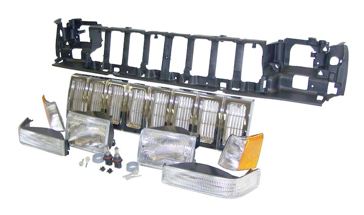 Crown 55054886k Jeep Cherokee Zj Header Panel Kit