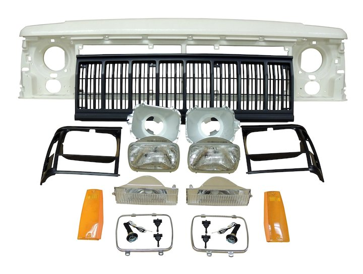 Header Panel Kit 1991-96 Cherokee XJ