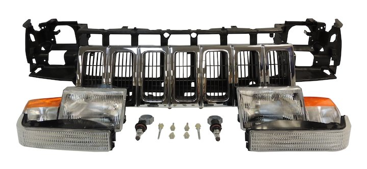 Header Panel Kit, 96-98 Grand Cherokee ZJ