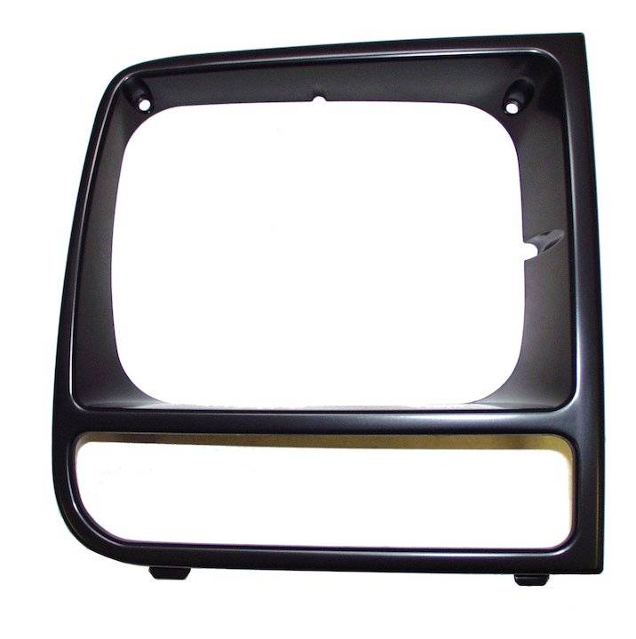 Headlamp Bezel, Right, Black, 97-01 Cherokee XJ