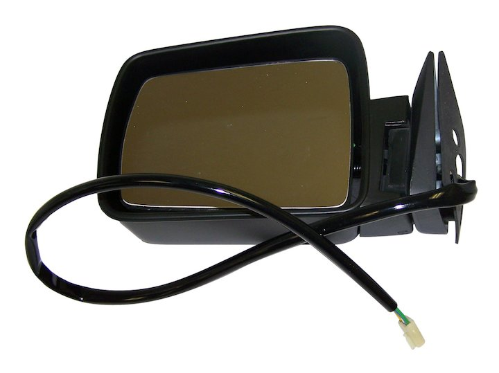 Electric Remote Mirror, Left (Black)