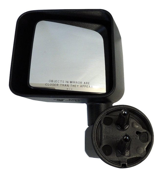 Left Mirror 07-10 Wrangler Export Model