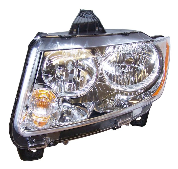 Head Lamp, Left, 11-12 Grand Cherokee WK