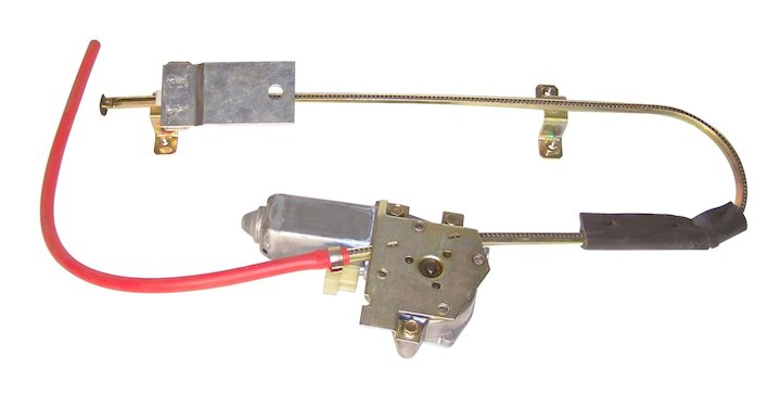 Electric Window Regulator, Rear Left, 84-96 Cherokee