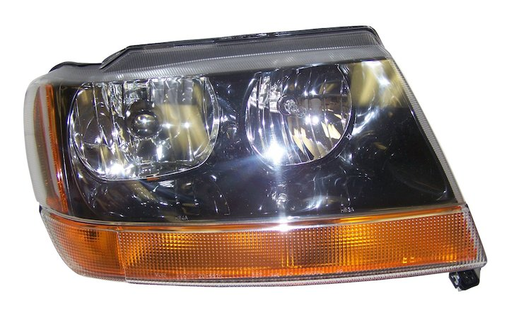 Head Lamp, Right, 99-04 Grand Cherokee WJ