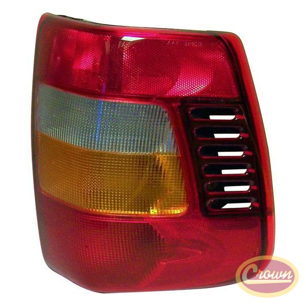 Tail Lamp, Left, 1999-2004 Grand Cherokee WJ  after 11/12/01