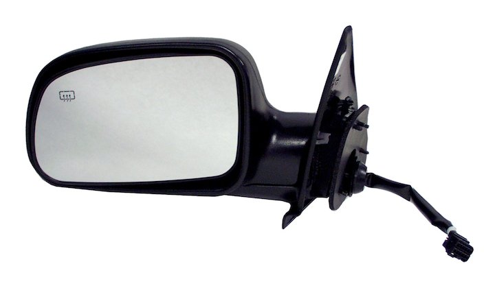 Left Side Heated Mirror 1999-02 Grand Cherokee