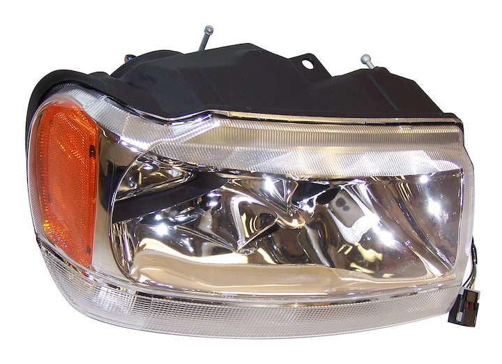 Head Lamp, Right, 99-04 Grand Cherokee WJ, Limited