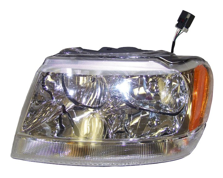 Head Lamp, Left, 99-04 Grand Cherokee WJ, Limited