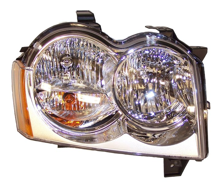 Head Lamp, Right, 05-07 Grand Cherokee WK