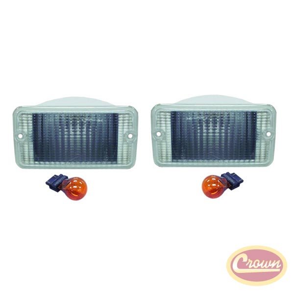 Clear Parking Lamp Kit 97-06 Wranglers