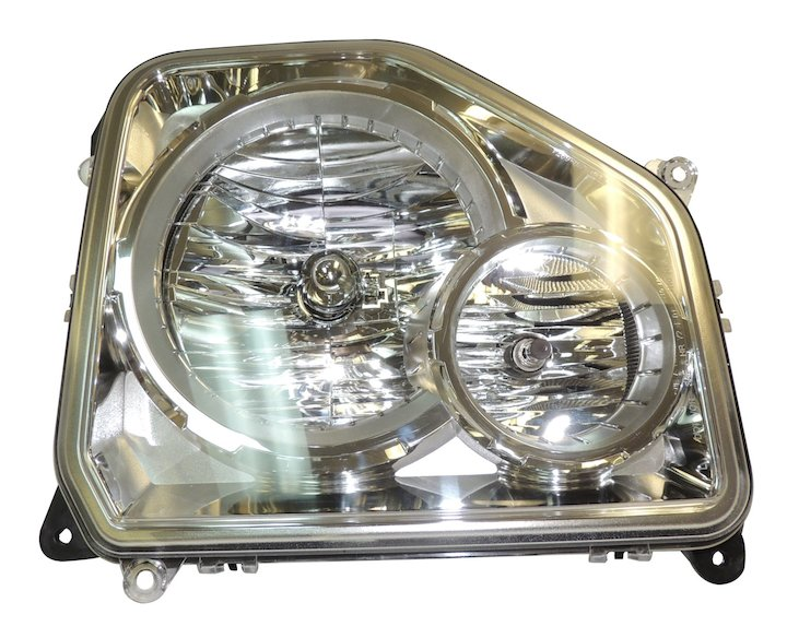 Headlamp, Left, 08-12 Liberty with Fog Lamps