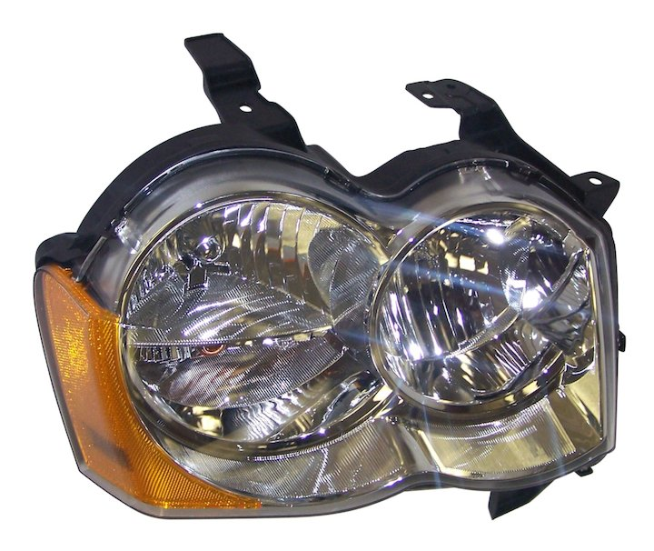 Head Lamp, Right, 08-10 Grand Cherokee WK No LMP