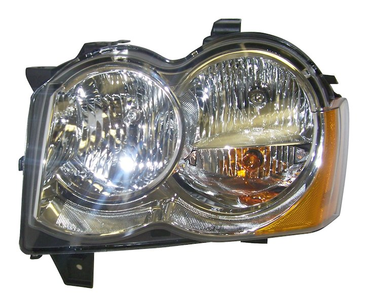 Head Lamp, Left, 08-10 Grand Cherokee WK No LMP