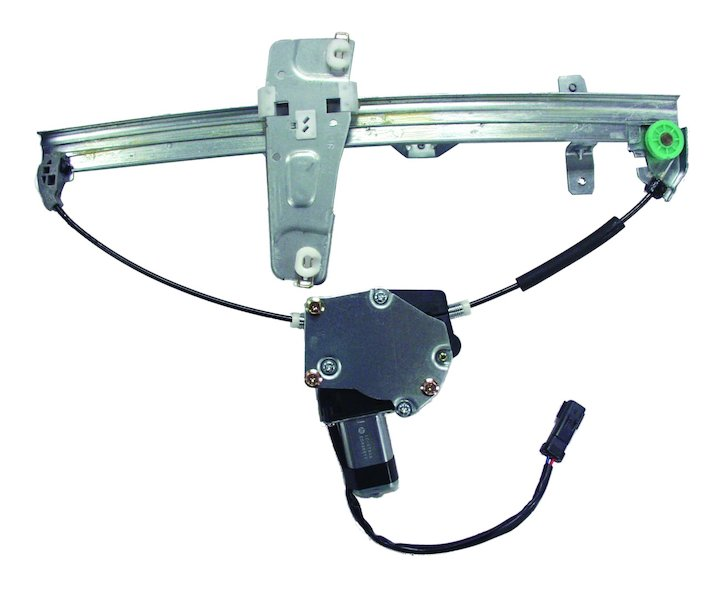 55363287ac window regulator assembly front left 2000 for 04 jeep liberty window regulator
