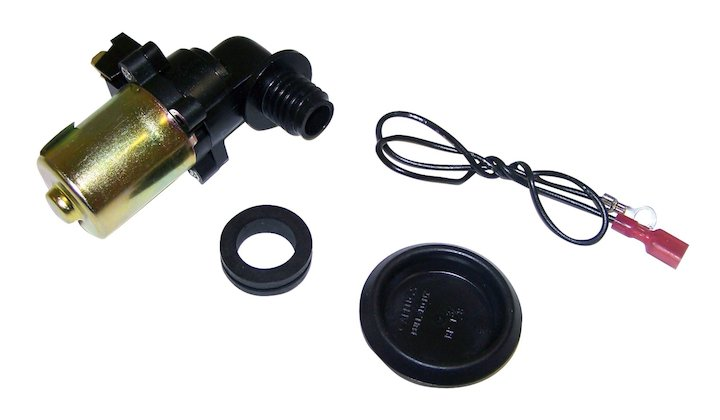 Windshield Washer Pump 87-98 Wranglers Cherokee