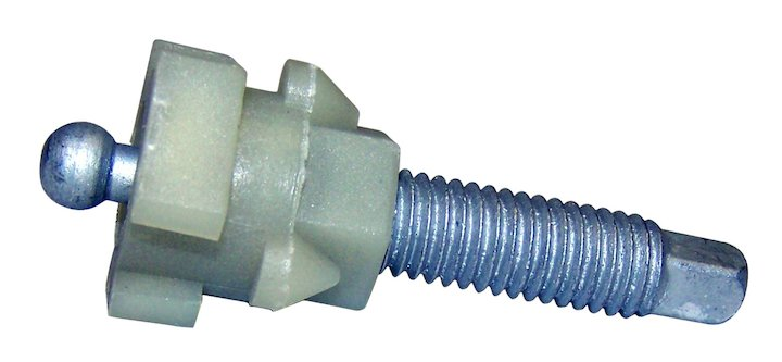 Headlamp Adjusting Screw, 2 inch, 93-96 Crand Cherokee ZJ