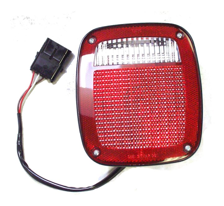 Tail Lamp, Right, 1997 Jeep Wranglers