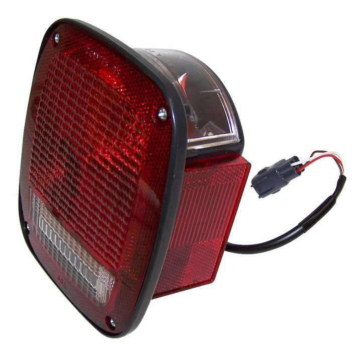 Tail Lamp, Left, 98-06 Wranglers TJ