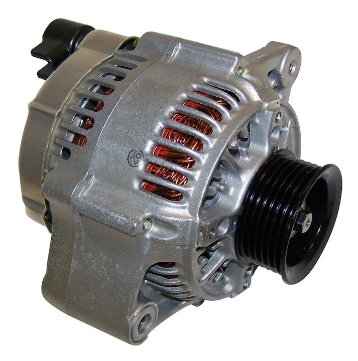 Alternator, 117 amps, 94-96 Cherokee XJ