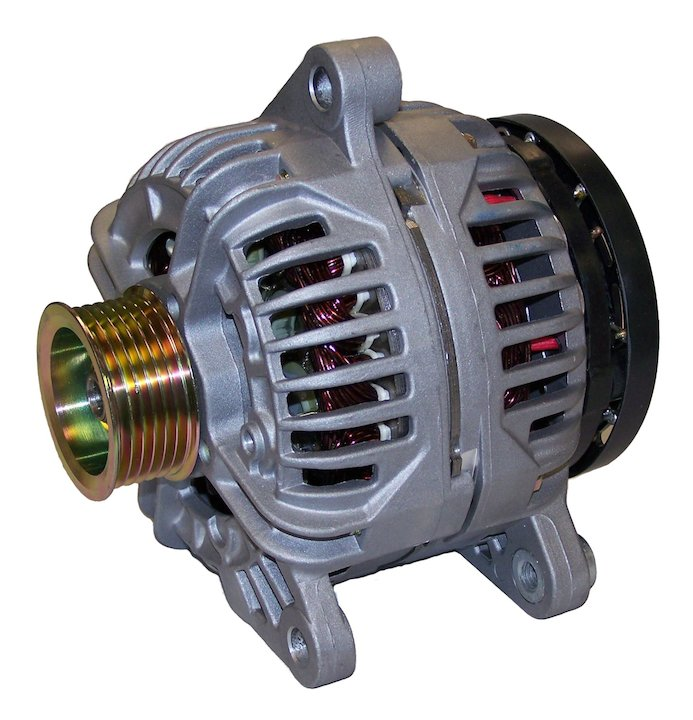 Alternator, 136 amps, 99-04 Grand Cherokee WJ 4.0L Engine