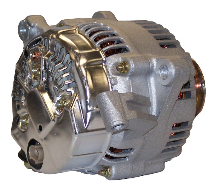 Alternator, 136 amps, 99-01 Grand Cherokee WJ 4.7L Engine