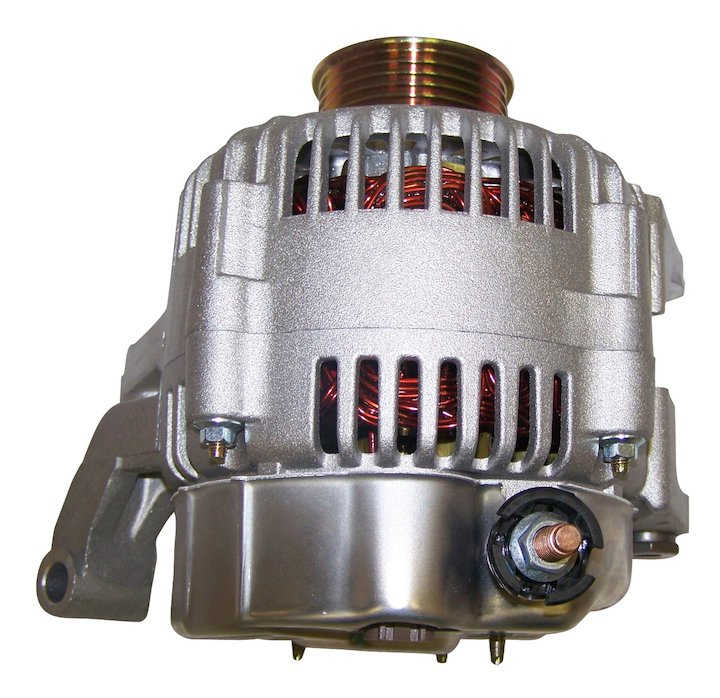 Alternator, 136 amps, Jeep Liberty 3.7L Engine