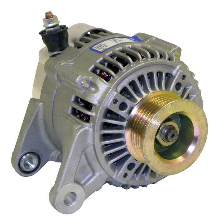 Alternator 2001-06 Wrangler 4.0L Engine