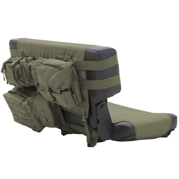 G.E.A.R. Rear Seat Cover 76-06 Jeep CJ Wranglers Olive Drab