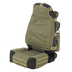 G.E.A.R. Front Seat Cover, Olive Drab, 76-18 Jeep CJ Wranglers