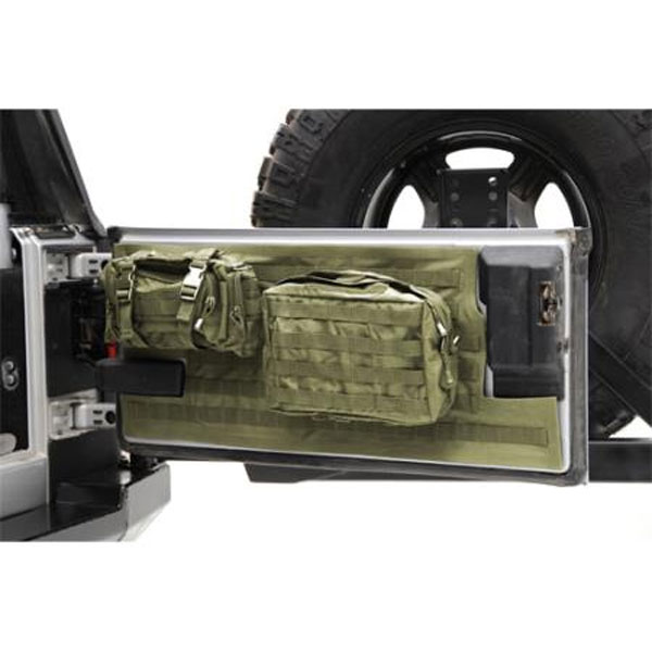 G.E.A.R. Tailgate Cover Olive Drab, Jeep Wranglers JK