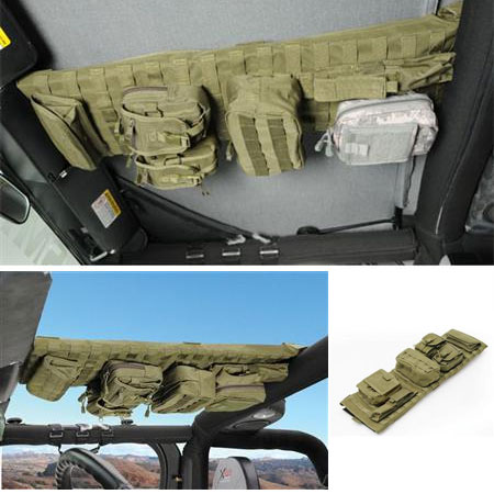 G.E.A.R. Overhead Console, Olive Drab, 07-18 Wranglers JK