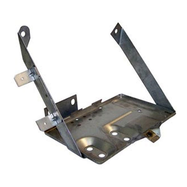 Jeep CJ Battery Tray, Stainless