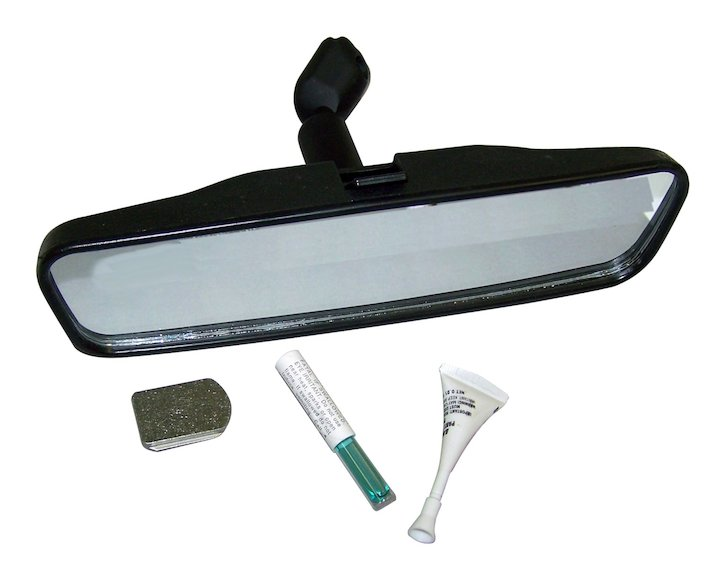 Rearview Mirror & Mount Kit