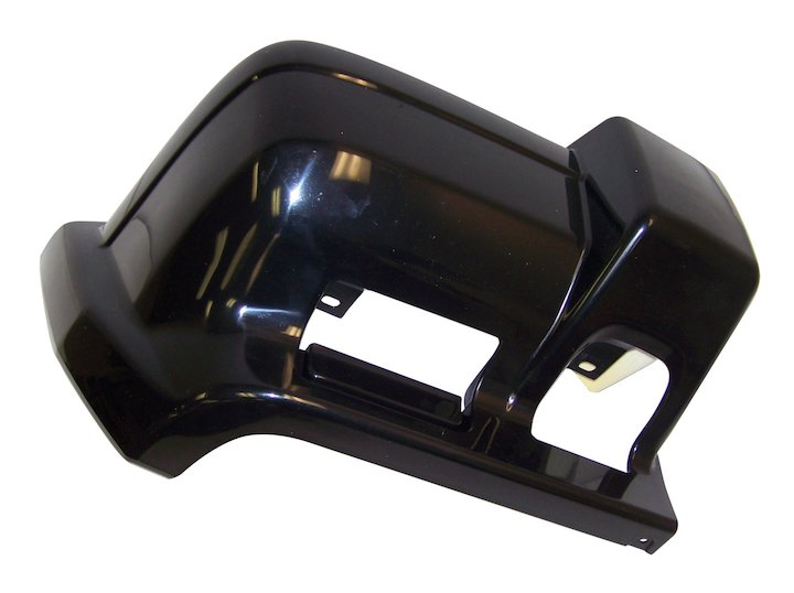 Front Bumper Cap, Right Flat Black 97-01 Cherokee