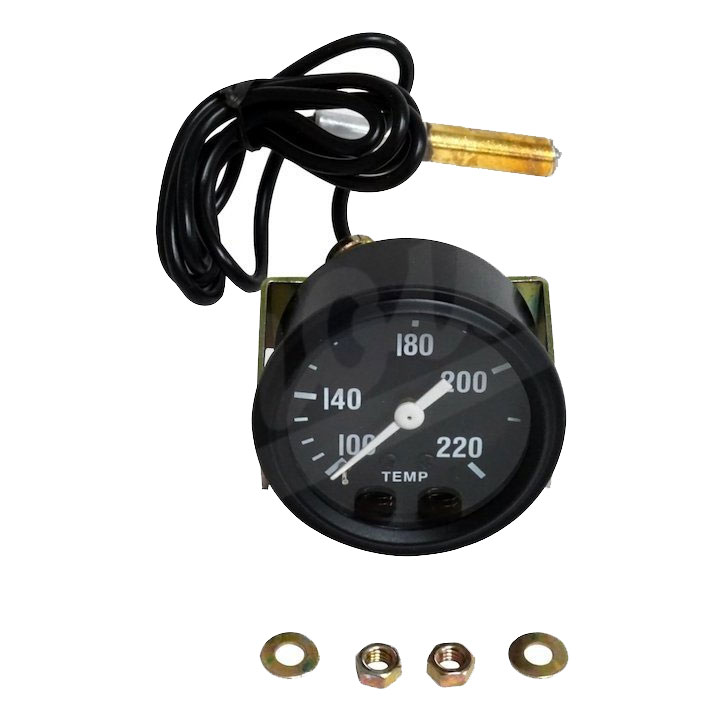 Temperature Gauge, Willys MB, Jeep CJ-2A