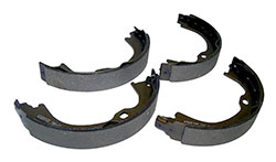 Jeep JT JL JK KK Parking Brake Shoe and Lining