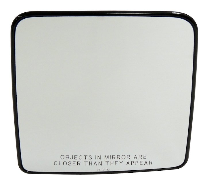 Mirror Glass, Right, 07-16 Wranglers