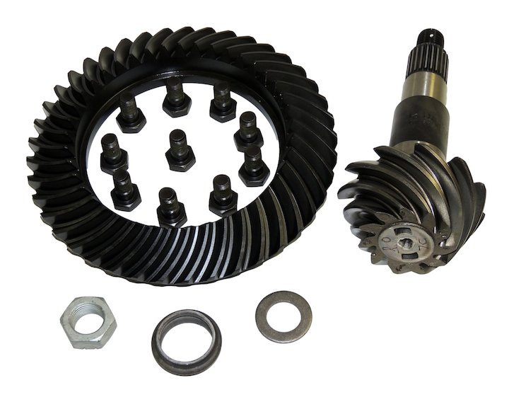 Gear and Pinion, Dana 44, 3.73, 08-16 Wranglers