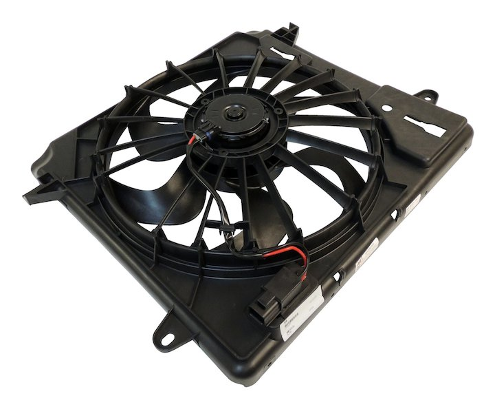 Cooling Fan Module 07-15 Wranglers 2.8L Diesel Engine