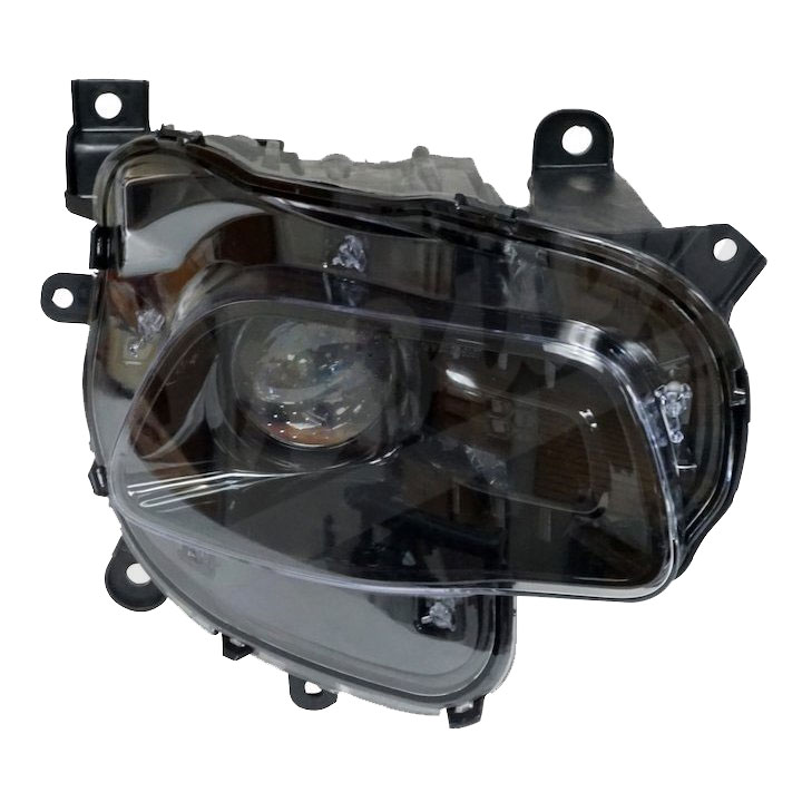 Headlight with Bulb and Bezel, Right, 14-16 Cherokee KL