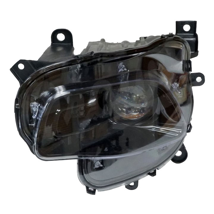 Headlight with Bulb and Bezel, Left, 14-16 Cherokee KL
