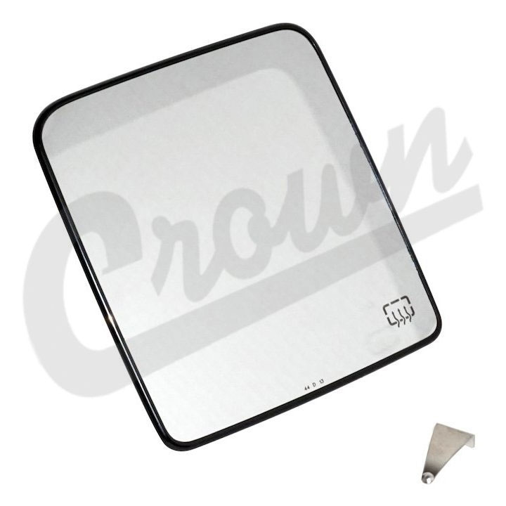 Jeep JK Side Mirror Glass, Left