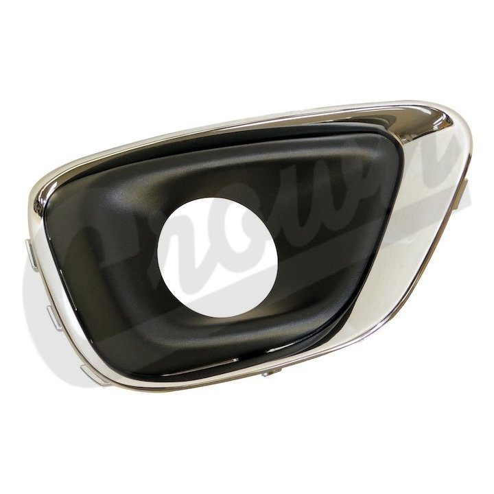 Chrome Fog Light Bezel, Right, 14-17 Compass MK