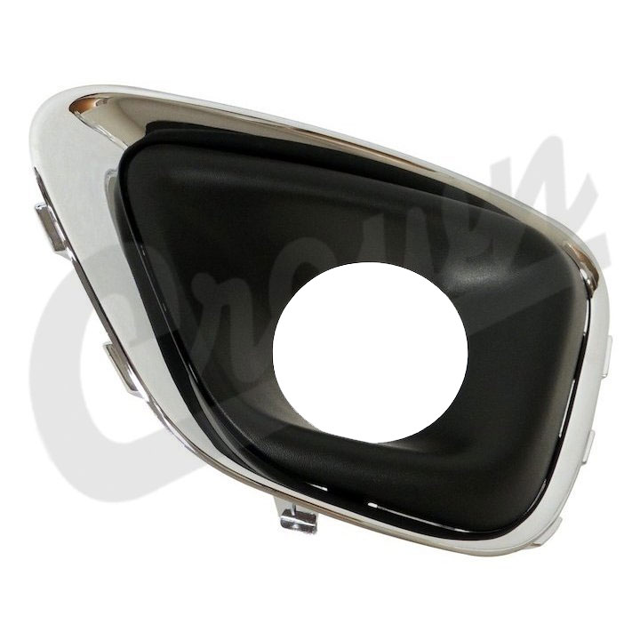 Chrome Fog Light Bezel, Left, 14-17 Compass MK